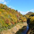 紅葉の入広瀬