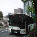 写真: 中日臨海バス、マンション送迎バスにMP38を導入。