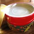 写真: 招き猫のお茶缶