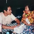 写真: 父と娘