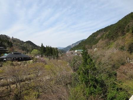 街が見えた道志村