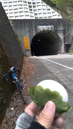 5月5日なのだから、山伏トンネルで柏餅