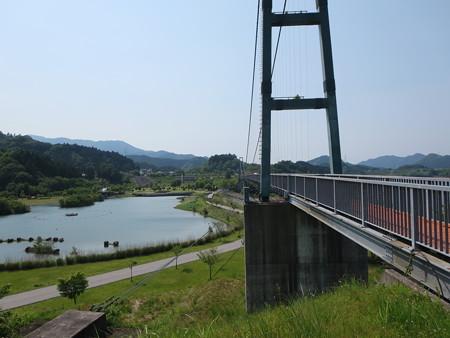 宮ケ瀬湖 水の郷大つり橋