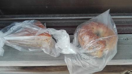 ゴマベーグル 黒みつパン