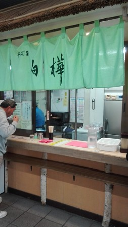 茅野駅 駅そば 白樺