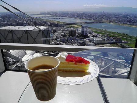 39階でお茶を・・ヽ(*^^*)ノ
