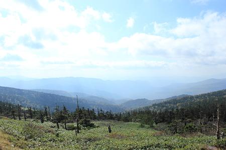 八幡平山頂 見返り峠から