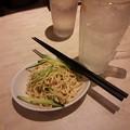 Photos: 中華一番に押し豆腐と言う謎おつまみがあるのだが糖質すくなそうでいい感じ