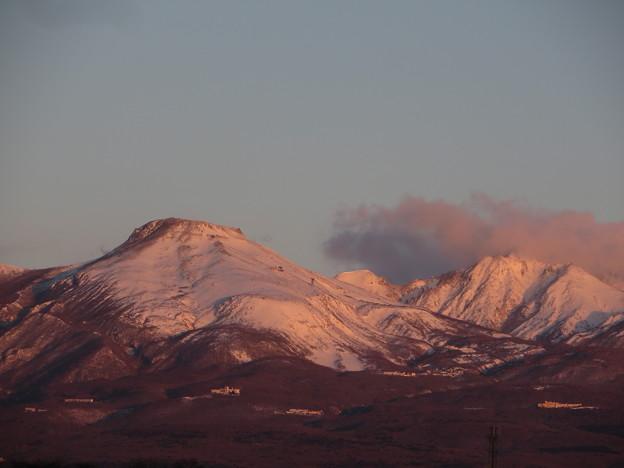 茶臼岳 朝焼け