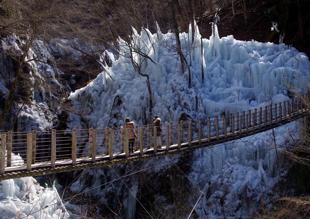 尾ノ内渓谷の氷柱