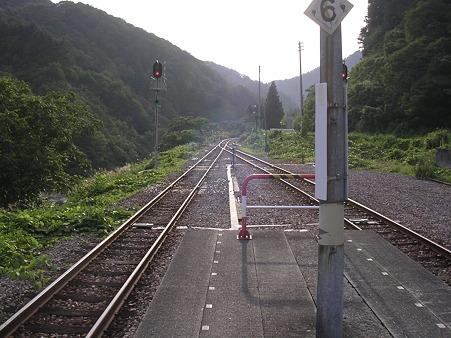 大白川駅ホーム2