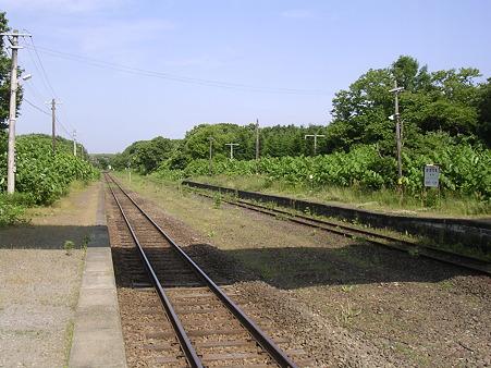掛澗駅ホーム2