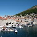 写真: 世界遺産の港