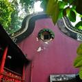 写真: 海の女神が祭られているお寺