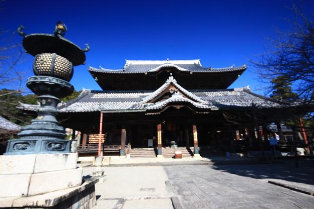 青空の粉河寺
