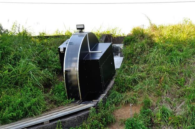 鳥海山麓のミニ水力発電