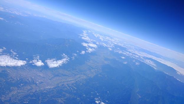 写真: 地平
