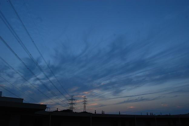 お気に入りの場所の夕日-177