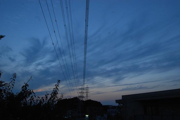 お気に入りの場所の夕日-186
