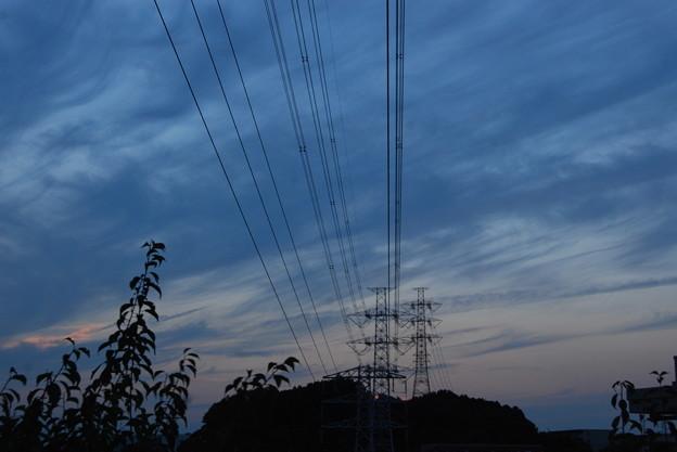 お気に入りの場所の夕日-187
