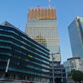写真: 建設中の「新 大名古屋ビルヂング」(2015/3/15)