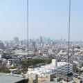 写真: 東山給水塔の一般公開 No - 044:展望階から見た景色(名駅ビル群)