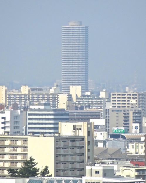 東山給水塔の一般公開 No - 081:展望階から見た景色(ザ・シーン城北)