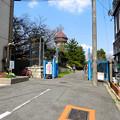 東山給水塔の一般公開 No - 103:東山配水場入口