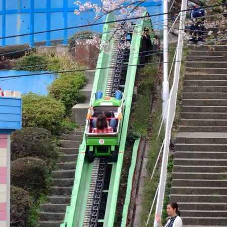 春の東山動植物園 No - 131:50周年を迎えた「スロープシューター」(2015/4/4)