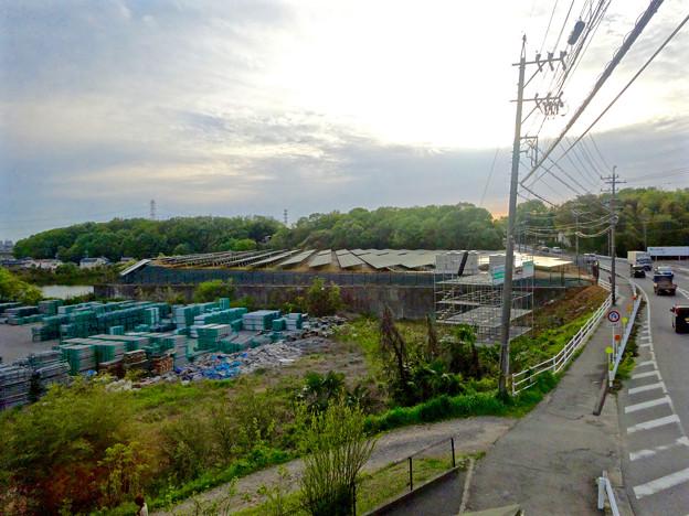 国道155号沿いの太陽光発電システム(春日井市金ケ口町)No - 5