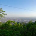 写真: 岐阜公園:岐阜城前の展望台 - 2(木曽川方面の景色)