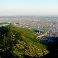 写真: 岐阜城天守閣から見た景色 No - 2:木曽川方面