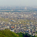 写真: 岐阜城天守閣から見た景色 No - 3:ツインアーチ138