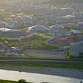 写真: 岐阜公園:展望レストランの展望台から見た、夕暮れ時の景色 - 28(岐阜メモリアルパーク)