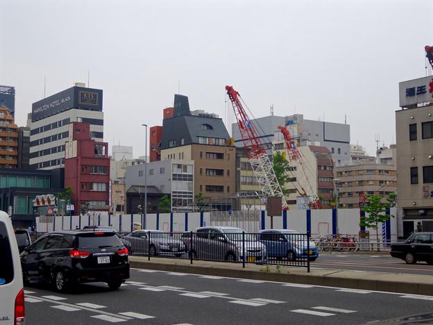 写真: 建物がすっかり取り壊された御園座 - 1