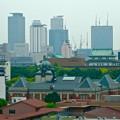 写真: 名古屋高速から見えた、名古屋市政資料館・愛知県庁・名駅ビル群 - 1