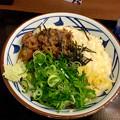 丸亀製麺:麦とろ牛ぶっかけ - 1