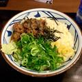 丸亀製麺:麦とろ牛ぶっかけ - 2