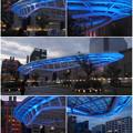写真: 青く輝くオアシス21のイルミネーション - 11