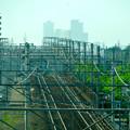 写真: 南大高駅:東海道本線越しに見えた、名駅ビル群 - 5
