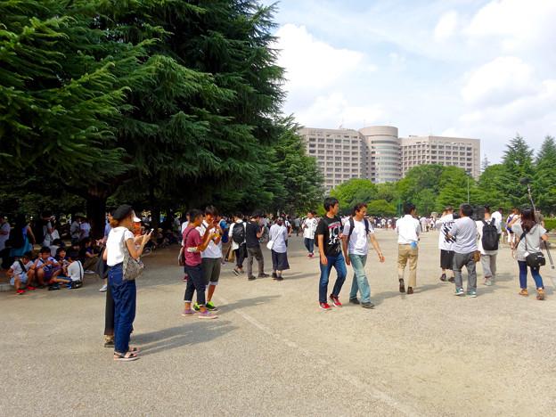 「ポケモンGo」をやりに来た人たちでごった返す鶴舞公園 - 54
