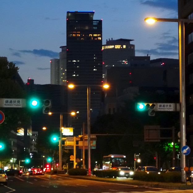 写真: 伏見駅前から見た名駅ビル群 - 5