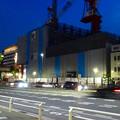 写真: 建設工事中の新「御園座」 - 2