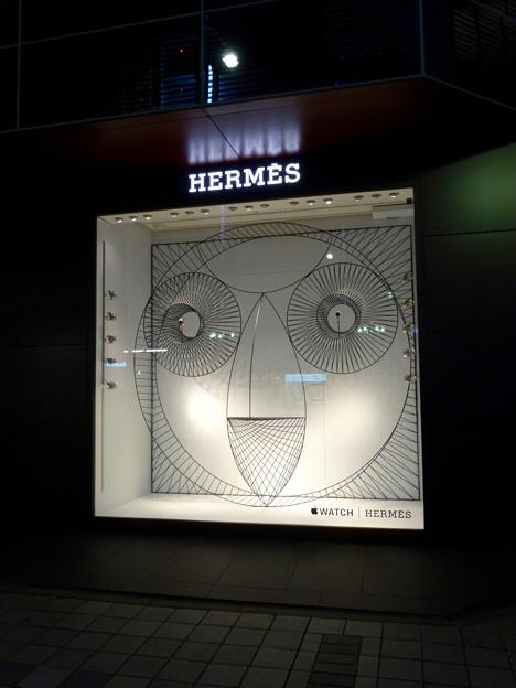 名古屋三越栄店1階に「Apple Watch Hermès」のディスプレイ - 1