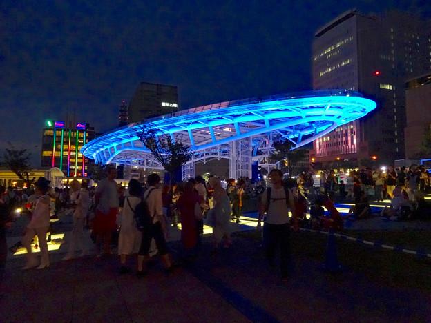 世界コスプレサミット 2016 No - 2:大勢の人で賑わう夜のオアシス21会場