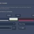 Vivaldi Snapshot 1.4.589.2:テーマを時間によって切り替えれる「テーマ・スケジュール」機能搭載! - 4(切り替えポイントは3つ以上追加可能)
