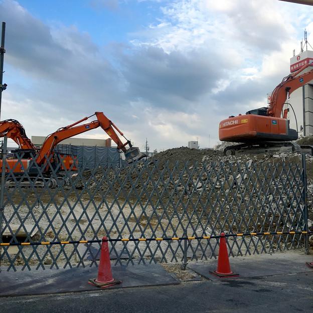 写真: すっかり建物が解体された、旧・ヤマダ電機テックランド春日井店 - 10