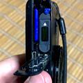 写真: Sony DSC WX300:SDカードとバッテリー収納部(オープン時) - 2