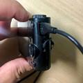 写真: Sony DSC WX300:マイクロUSBで充電中 - 2