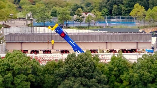 ミニチュアライズ:桃花台線の中央道上効果撤去工事現場付近 - 12(フィルター)